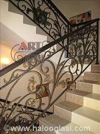 Ograde od kovanog gvožđa za stepeništa