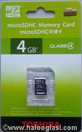 Toshiba micro SD - 8Gb