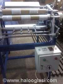 Mašina za uzdužno sečenje streč folije, minirol