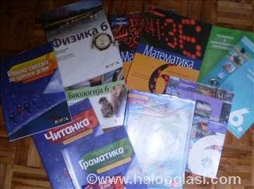 VI razred-Krug Logos Klett Bigz- polovni udžbenici