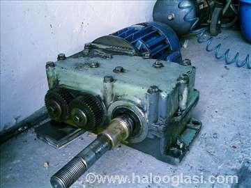 Elektromotor s kočnicom i reduktorom