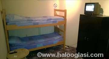 Beograd, hostel King, dvokrevetna soba