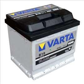 Akumulator 12V 52Ah D+ 470A Blue Varta