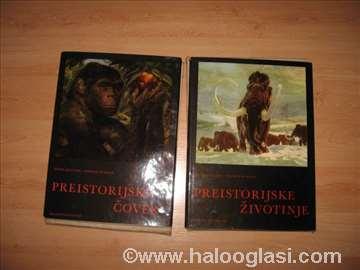 Preistorijske čovek i preistorijske životinje