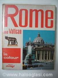 Rome and Vatican in color - Turistička knjiga