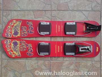 Skije Big Foot sa vezovima, dužina 65cm