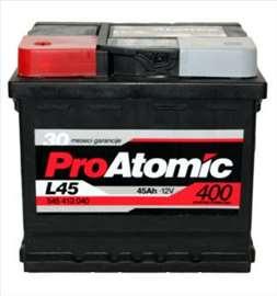 Akumulatori: Pro Atomic 45 Ah L+