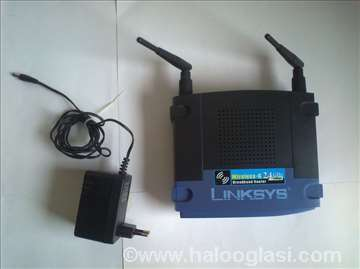 TP Linksys wireless router / bežični ruter