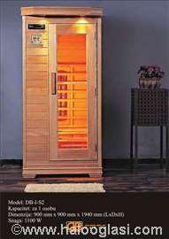 Infracrvena sauna (za jednu osobu)