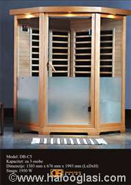 Infracrvena sauna (za pet osoba)