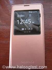 Zlatna futrola na preklop za Samsung S5