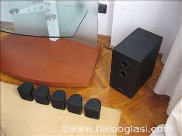 Magnat trosistemski zvučnici, novi, bas i sateliti