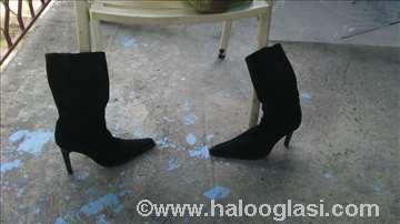 Čizme od prevrnute kože