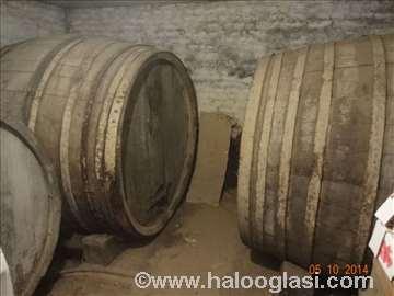 Velike bačve i burad za vino