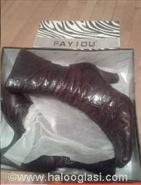 Fay IOU ženske kožne čizme