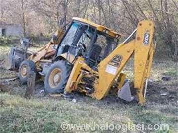 Mašinski iskop zemlje sa odvozom na deponiju