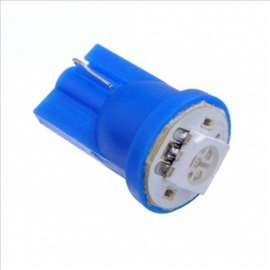LED sijalica T 10 Plava 2 komada