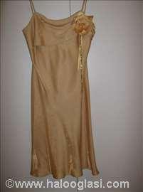 Haljina zlatne boje
