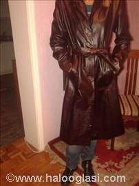 Ženski kožni mantil