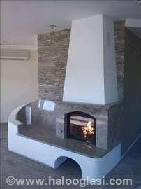 Kamini, kaljeve peći, zidane peći