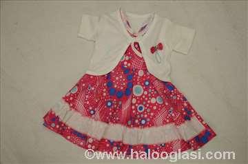 Nova haljinica za bebe sa bolerom + poklon