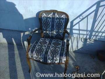 Stilske stolice dva komad
