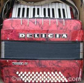 Harmonika Delicia Junior IV
