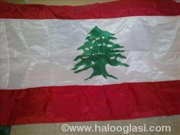 Zastava Libana(Lebannon flag new) nova