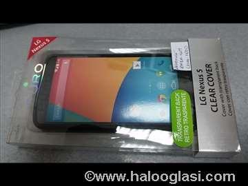 Futrola Puro clear cover za Nexus 5