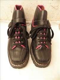 Starinske ski cipele Vibram, Italy, kozne,
