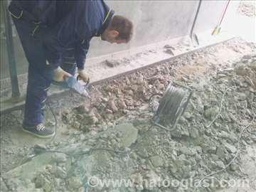 Sečenje i rušenje betona