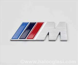 BMW M znak aluminijumski