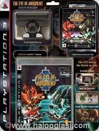 Kamera + igra The Eye of Judgment za PS3 Sony