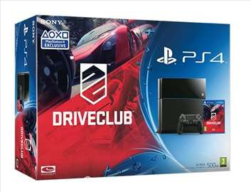 Konzola Sony Playstation 4, 500G + igra DriveClub