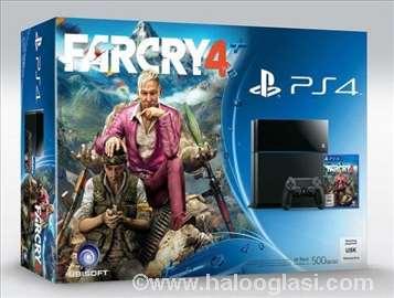 Konzola Sony PlayStation 4, 500G + igra FarCry 4
