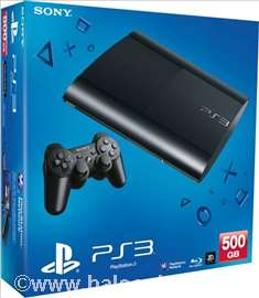 Konzola Sony PlayStation PS3 500G + igra