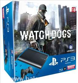 Konzola Sony PlayStation PS4 + igra Watch Dogs