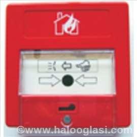 Požarni javljač sa kljucem