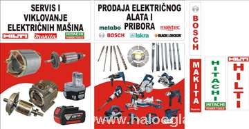 Električni ručni alat i pribor