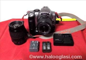 Canon EOS 300D sa objektivima i priborom
