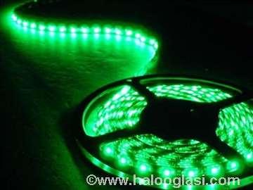 Zelena LED traka