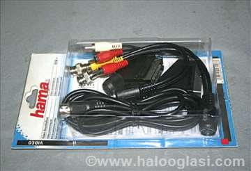 Hama, set kvalitetnih AV kablova