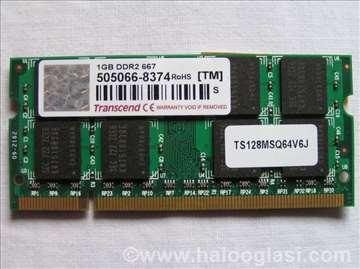 Transcend 1 GB DDR2 667 MHz