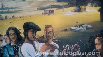 Slušanje pastoralne poeme Milić od Mačve 1993 god
