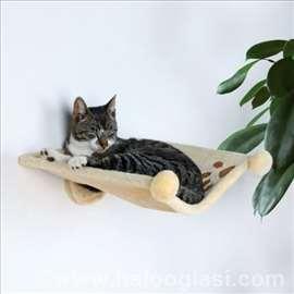 Ležaljka za mačke koja se kači na zid 42x41cm