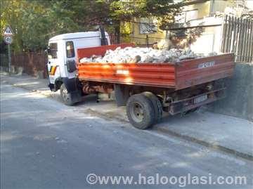 Odvoz šuta i ostalog otpada