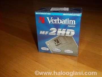 Diskete Verbatim DataLife MF2HD - 1.44MB, novo