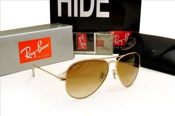 Ray ban Aviator Goldem/Brown