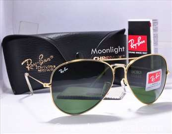 Ray ban Aviator Goldem/Green