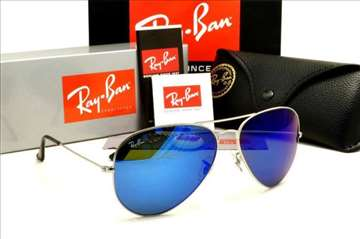 Ray ban Silver/Blue Mirror